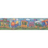 Prepasted Wallpaper Borders - Kids Wall Paper Border 11061 BE 6