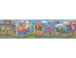 6 in x 15 ft Prepasted Wallpaper Borders - Kids Wall Paper Border 11061 BE 6