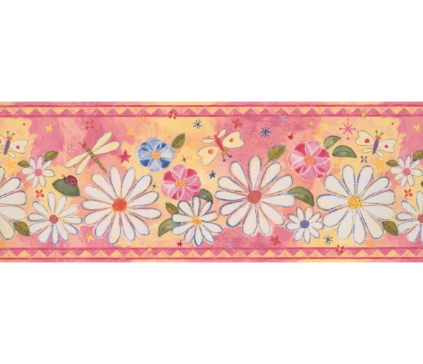 Prepasted Wallpaper Borders - Kids Wall Paper Border 11201 BE