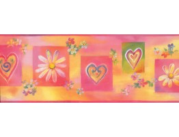 Prepasted Wallpaper Borders - Kids Wall Paper Border 11221 BE
