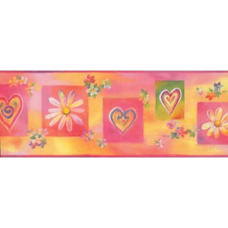 9 in x 15 ft Prepasted Wallpaper Borders - Kids Wall Paper Border 11221 BE
