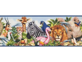 Animals Wallpaper Border 11251 BE