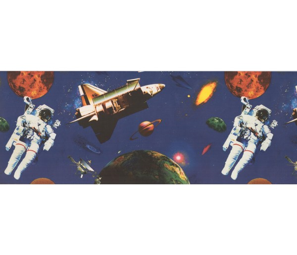 Space Wallpaper Border 1129 BE