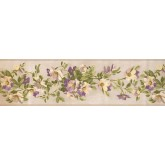 Floral Wallpaper Borders: Floral Wallpaper Border BH10-089-001-16