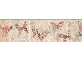 Butterfly Wallpaper Border BH11-089-001-41