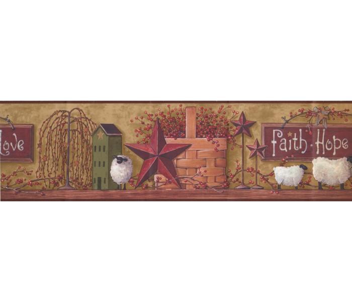 Kitchen Wallpaper Borders: Kitchen Wallpaper Border BH11-089-001-46