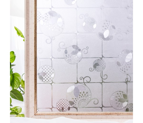 "Window Films No-Glue 3D Static Decorative Window Film 60x200cm (23.62x78.75"")"