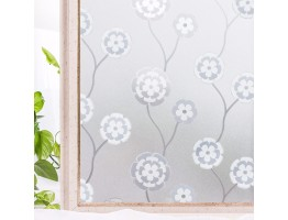 No-Glue 3D Static Decorative Window Film