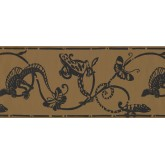 Animal Wallpaper Borders: Animals Wallpaper Border 1955 BN