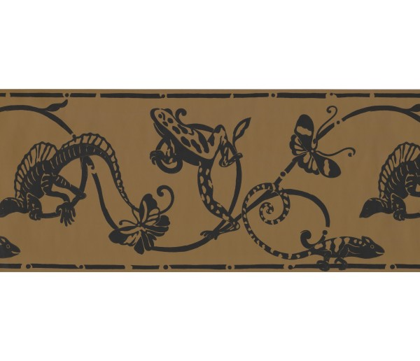 Jungle Animals Wallpaper Border 1955 BN