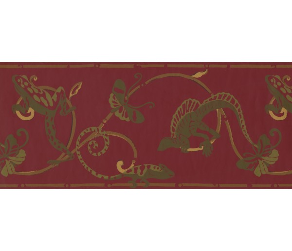 Jungle Animals Wallpaper Border 1956 BN
