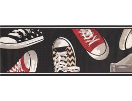 Shoe Wallpaper Border 5362 BS