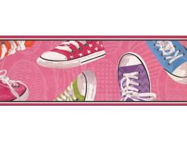 Shoe Wallpaper Border 5365 BS