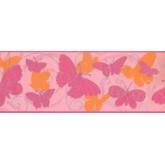 Birds  Wallpaper Borders: Butterfly Wallpaper Border 5406 BS