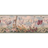 Laundry Wallpaper Borders: Laundry Wallpaper Border 7031 BSB