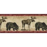 Bears Bears And Dears Wallpaper Border BW77446