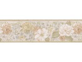 Floral Wallpaper Border 62B03918