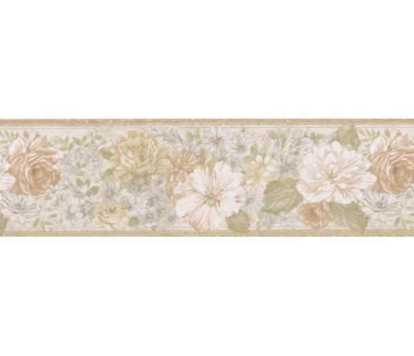 Garden Wallpaper Borders: Floral Wallpaper Border 62B03918