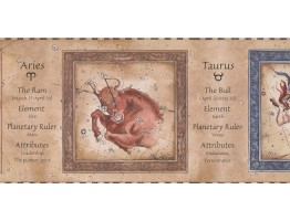 Zodiac Wallpaper Border 3028 CA