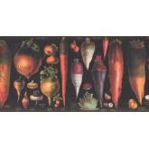 Kitchen Wallpaper Borders: Vegetables Wallpaper Border 3049 CB