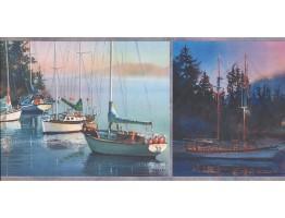 Ships Wallpaper Border 3067 CB
