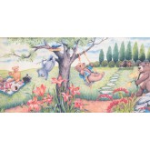 Garden Wallpaper Borders: Garden Wallpaper Border 3068 CB