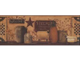 Kitchen Wallpaper Border 5508 CB