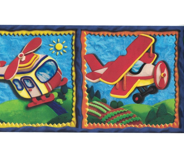 New Arrivals Kids Wallpaper Border CK83031B