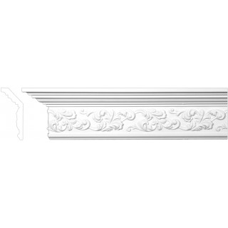 Crown Molding 5 1/2 inch Manufactured with a Dense Architectural Polyurethane Compound CM 1163