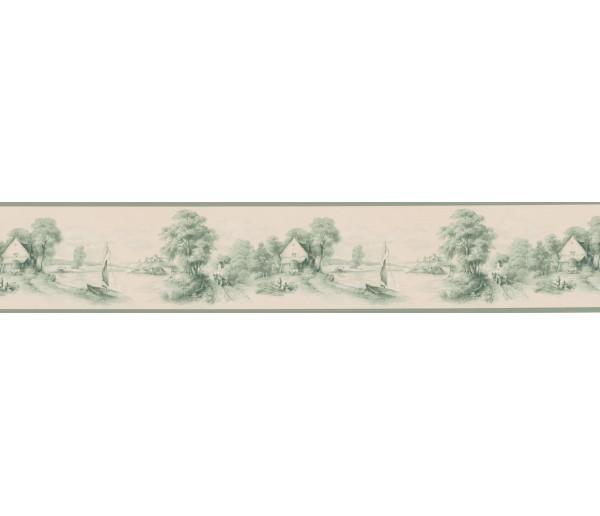 Vintage Wallpaper Borders: Vintage Wallpaper Border T742452B