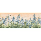 Floral Wallpaper Borders: Floral Wallpaper Border 3805 DB