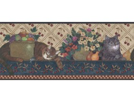 Ellen Stouffer Wallpaper Border DC5001B