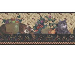 Ellen Stouffer Wallpaper Border DC5002B