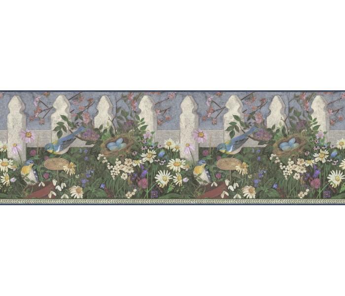 Garden Wallpaper Borders: Garden Wallpaper Border DC5006B
