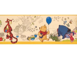 Prepasted Wallpaper Borders - Kids Wall Paper Border 5839 DK