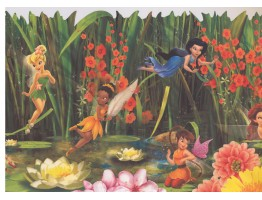 Fairies Wallpaper Border 5896 DK