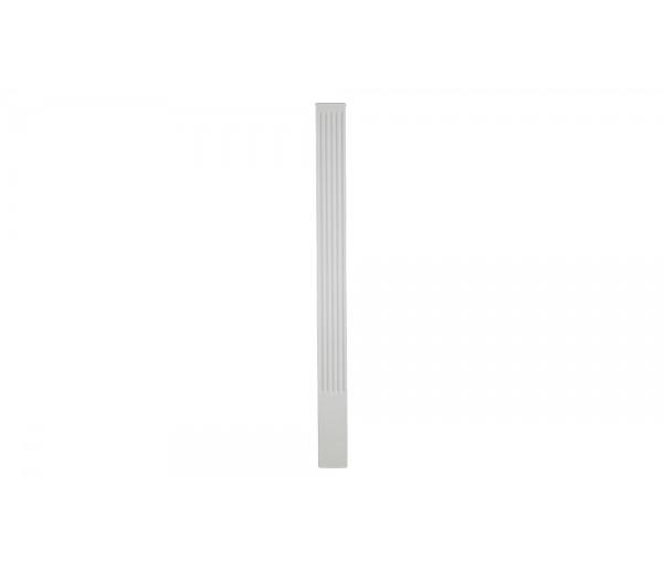 Flat Column: Decorative Interior Columns - Flat Column Made from Dense Architectural Polyurethane Compound