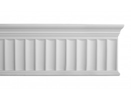 Flat Molding - Plastic Flat Moulding Manufactured with a Dense Architectural Polyurethane Compound. DM-8008 Flat Molding