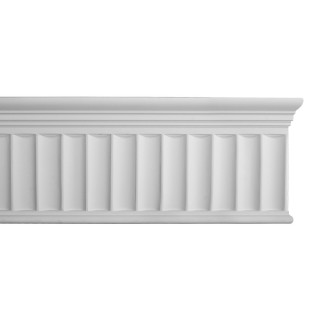 Flat Molding 7-3/4 inch Manufactured with Dense Architectural Polyurethane Compound. DM-8008 Flat Molding