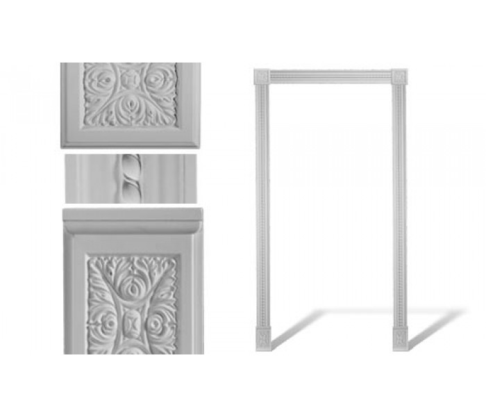 Door and Window Trim: DM-8027 Door Set