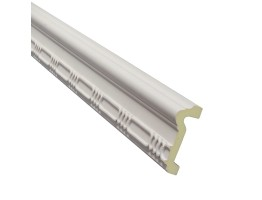 Flat Molding 3-5/8 inch Manufactured with Dense Architectural Polyurethane Compound. DM-8034 Flat Molding