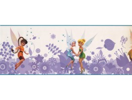 9 in x 15 ft Prepasted Wallpaper Borders - Fairies Wall Paper Border 7768 DS