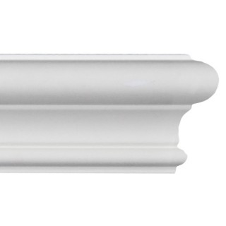 Flat Molding 1-13/16 inch Manufactured with Dense Architectural Polyurethane Compound. ET-8718 Flat Molding