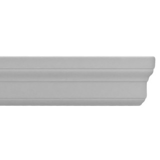Flat Molding 3 inch Manufactured with Dense Architectural Polyurethane Compound. ET-8763 Flat Molding