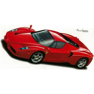 Enzo Ferrari 2002 Wall Decal