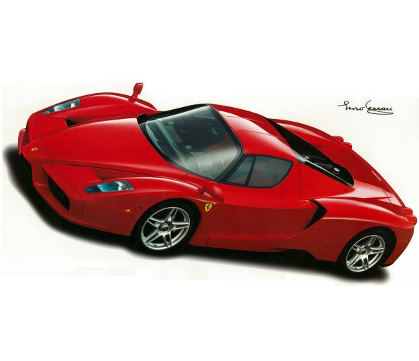 Wall Decals Enzo Ferrari 2002 Wall Decal York Wallcoverings