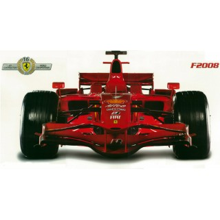 Formula 1 Ferrari F2008 Wall Decal
