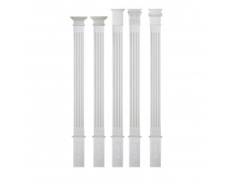 Flat Interior Column - FC-6008S Flat Column Set FC-6047B