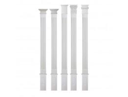 Flat Interior Column - FC-6008S Flat Column Set FC-6047A
