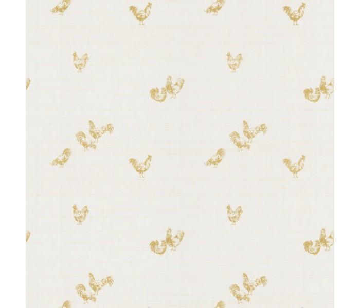 Birds Wallpaper: Toile Impressions Wallpaper FD45727